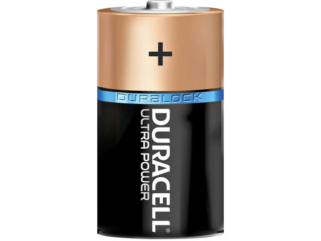 Batterij Duracell Ultra Power 2xD MX1300 3