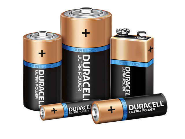 Batterij Duracell Ultra Power 2xD MX1300 2