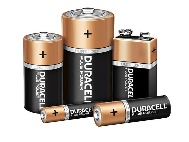 Batterij Duracell Plus Power 12xAAA alkaline 3