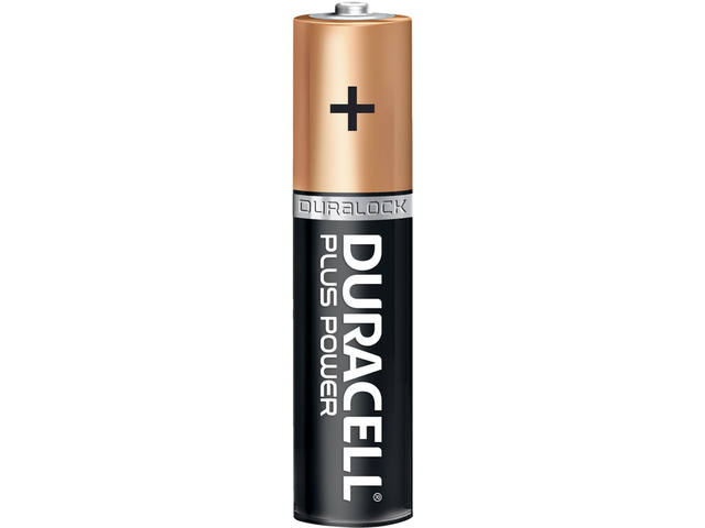 Batterij Duracell Plus Power 12xAAA alkaline 2