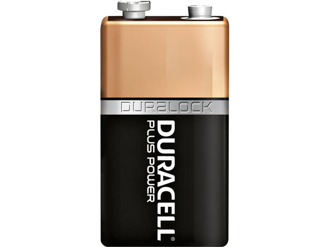Batterij Duracell Plus Power 2x9Volt MN1604 2