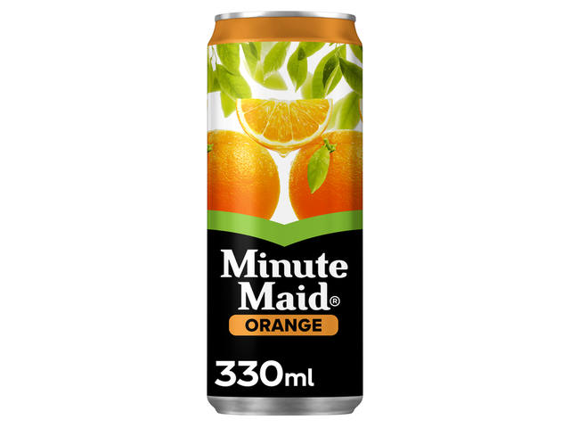 Frisdrank Minute Maid Orange blikje 0.33l 1