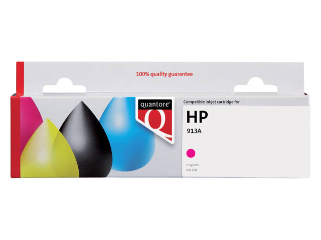 Inktcartridge Quantore HP F6T78AE 913A rood 1