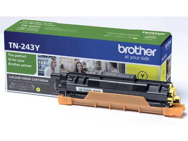 Tonercartridge Brother TN-243Y geel 1