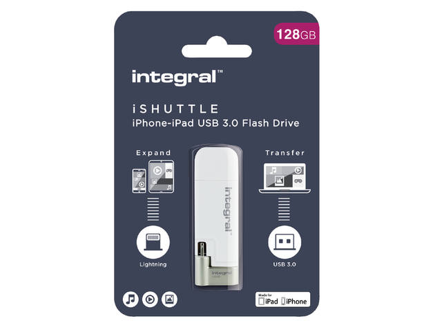 USB-stick 3.0 Integral I-Shuttle 128GB 1