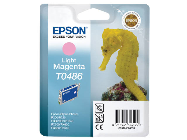 Inkcartridge Epson T0486 lichtrood 1
