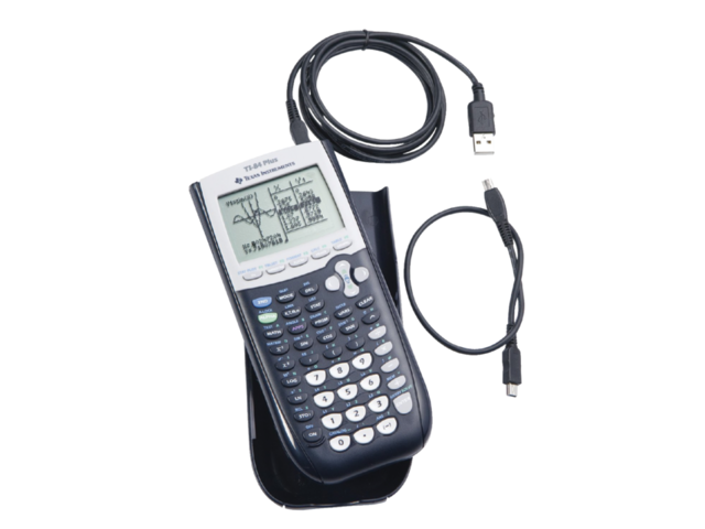 Rekenmachine TI-84 Plus inclusief link USB teacher pack 1