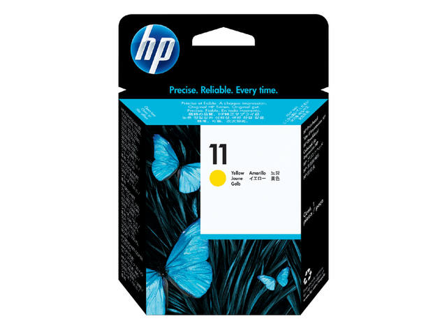 Inktcartridge HP C4838AE 11 geel 1