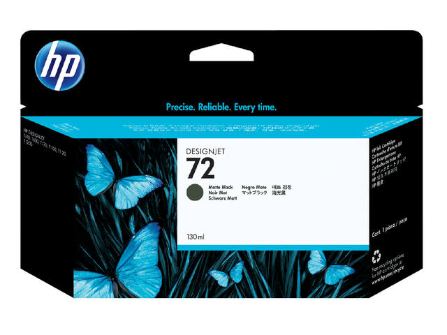 Inktcartridge HP C9403A 72 mat zwart 1