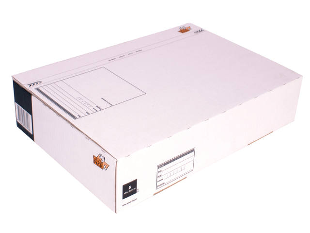 Postpakketbox 5 CleverPack 430x300x90mm wit 1