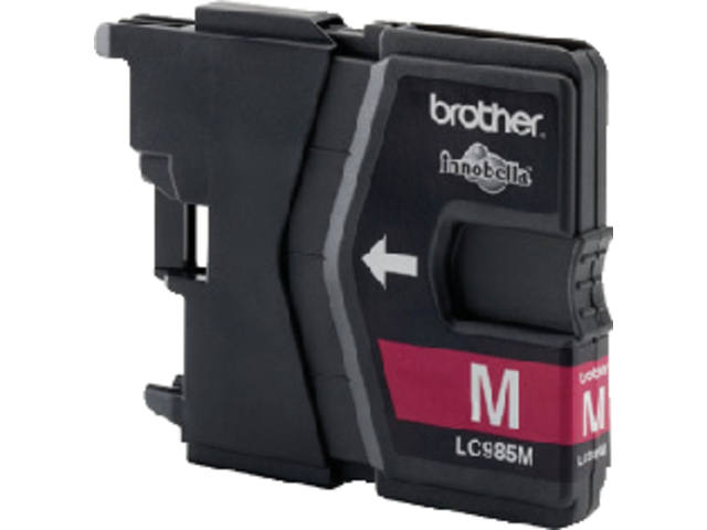Inkcartridge Brother LC-985M rood 2