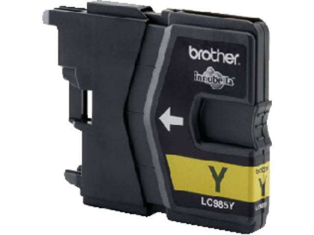Inkcartridge Brother LC-985Y geel 2