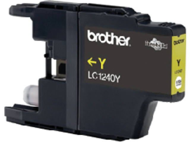 Inkcartridge Brother LC-1240Y geel 2
