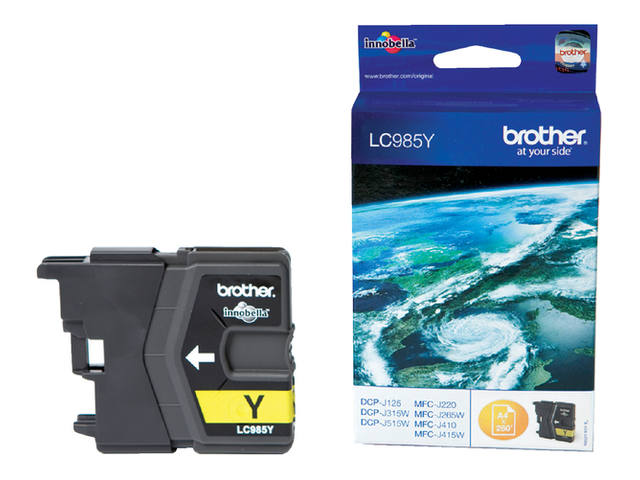 Inkcartridge Brother LC-985Y geel 1