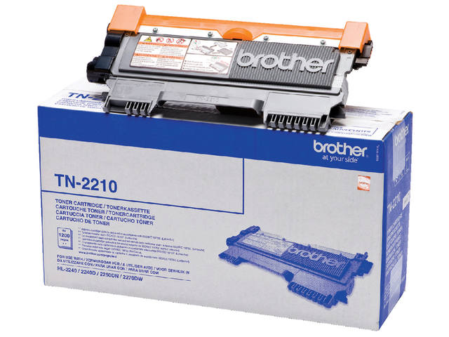 Tonercartridge Brother TN-2210 zwart 1