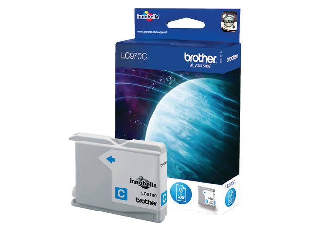Inkcartridge Brother LC-970C blauw 1