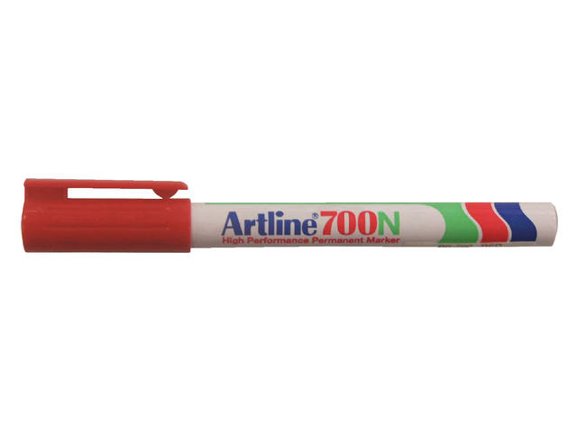 Viltstift Artline 700 rond rood 0.7mm 2