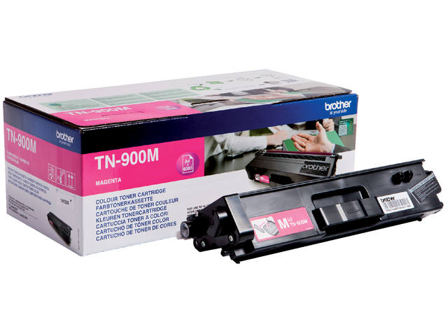 Tonercartridge Brother TN-900M rood 1