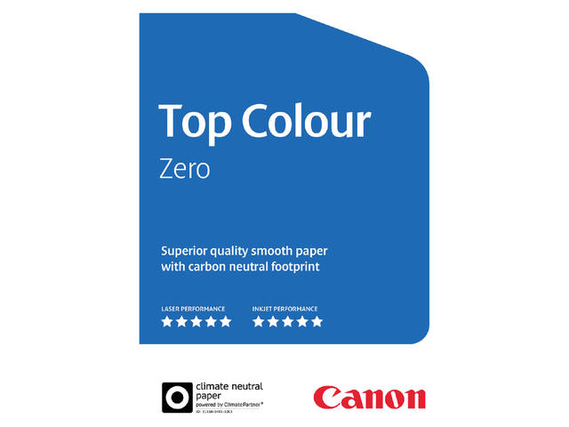 Laserpapier Canon Top Colour Zero A4 250gr wit 250vel 2