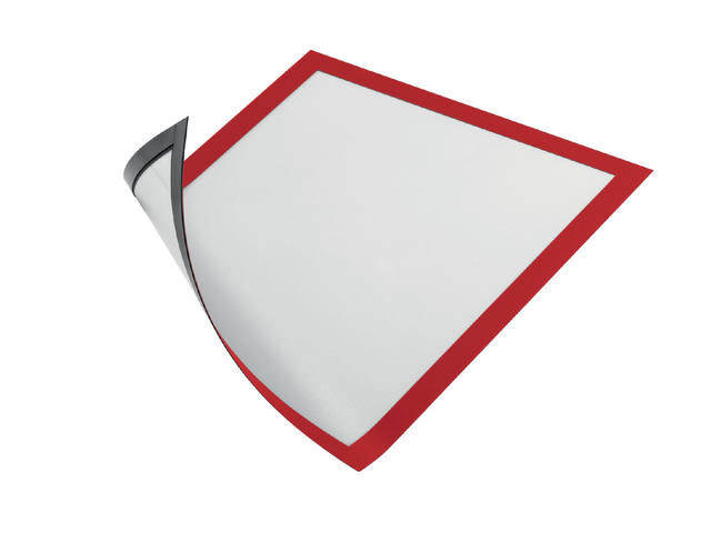 Duraframe Durable 486903 magnetisch A4 rood 1