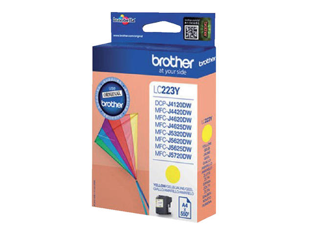 Inkcartridge Brother LC-223Y geel 2