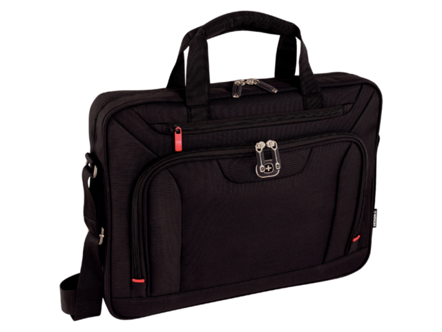 "Laptoptas Wenger Index 16"" zwart 1"