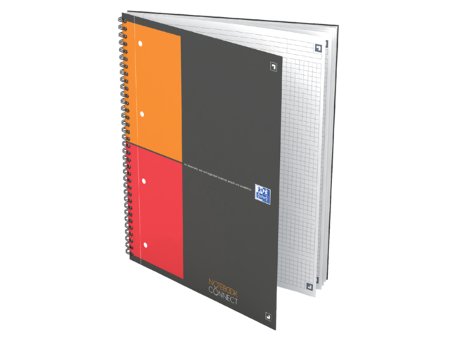 Notitieboek Oxford Notebook Connect B5 ruit 2