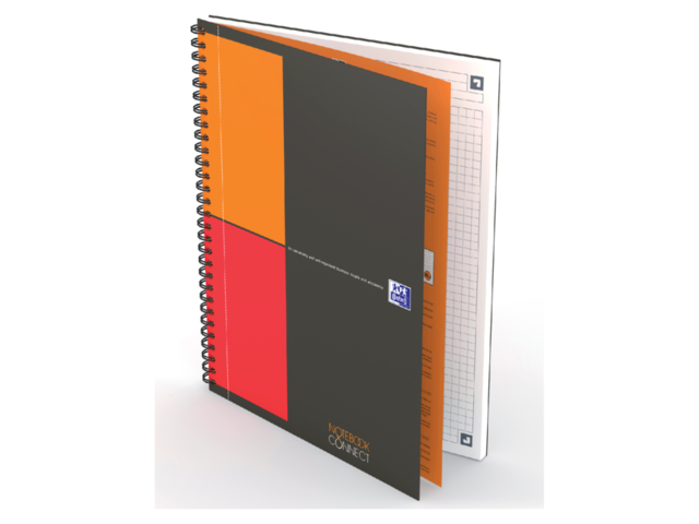 Notitieboek Oxford Notebook Connect B5 ruit 3
