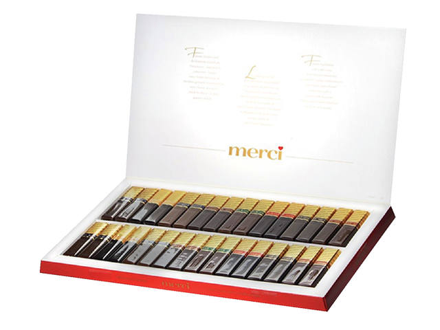 Chocolade Merci Finest selection 400gr 2