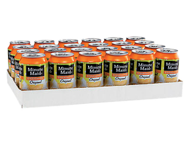 Frisdrank Minute Maid Orange blikje 0.33l 2