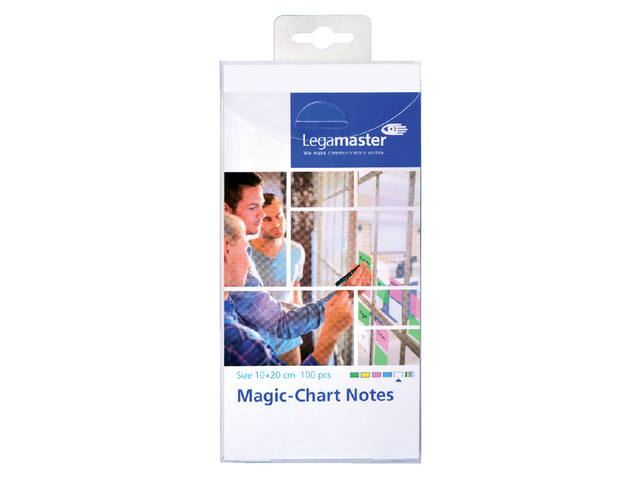 Magic-chart notes Legamaster 10x20 cm wit 2