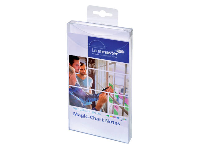 Magic-chart notes Legamaster 10x20 cm wit 3