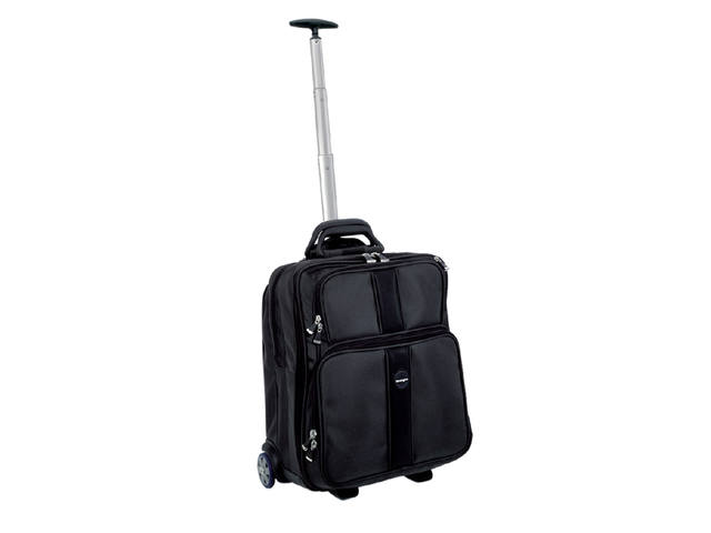 "Laptoptas Trolley Kensington Overnight 17"" zwart 1"