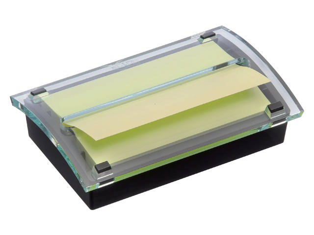 Memoblokdispenser 3M Post-it Z-Notes C2015 76x127mm zw/trans 1