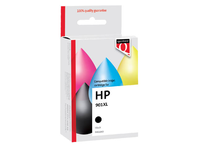 Inkcartridge Quantore HP CC654A 901XL zwart 1