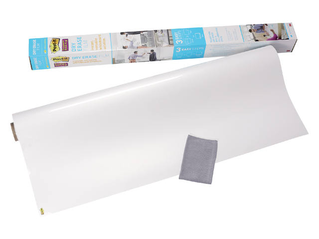 Whiteboard folie 3M Post-it 60.9x91.4cm wit 1