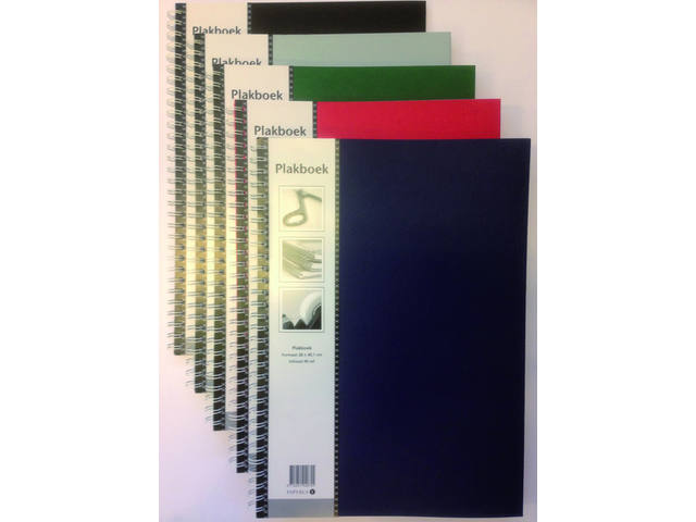 Plakboek Papyrus 400x280mm 40vel assorti 1