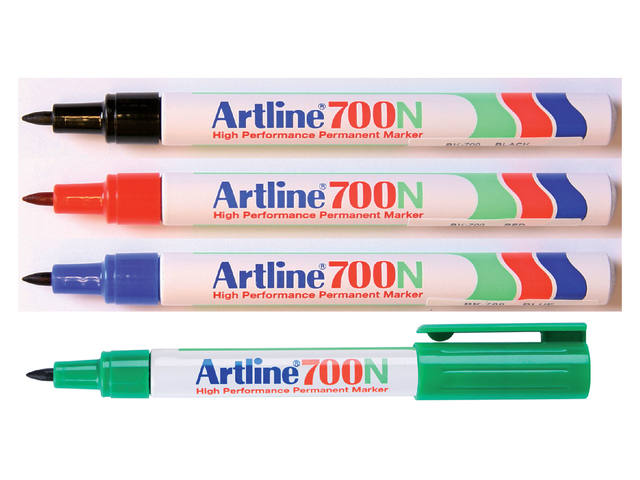 Viltstift Artline 700 rond rood 0.7mm 3
