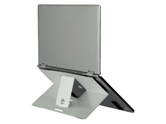 Ergonomische laptopstandaard R-Go Tools Riser attachable aluminium 1
