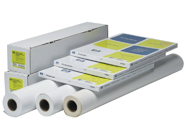 Inkjetpapier HP C6029C 610mmx30,5m 130gr heavyweight coated 1