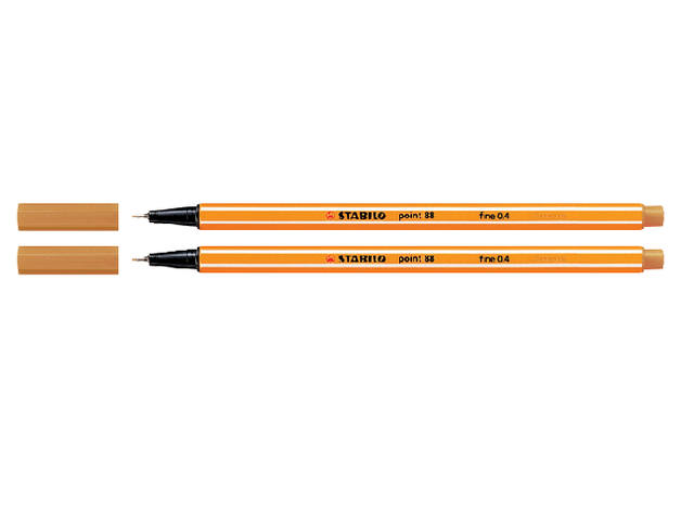 Fineliner Stabilo Point 88/54 oranje 1