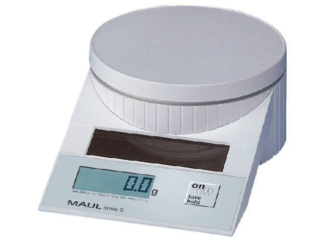 Briefweger Maultronic 1515002 tot 5000gram wit 1