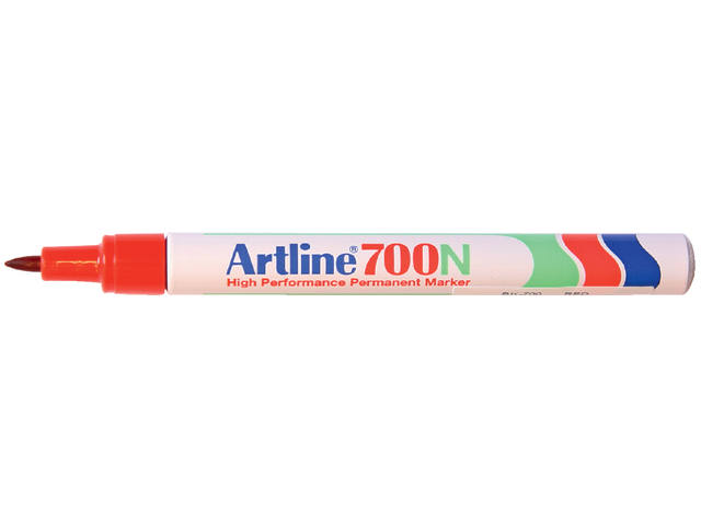 Viltstift Artline 700 rond rood 0.7mm 1