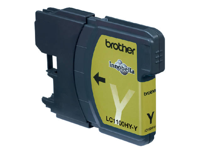 Inkcartridge Brother LC-1100HYY geel HC 2