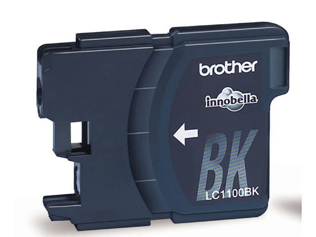 Inkcartridge Brother LC-1100BK2 zwart 2X 2