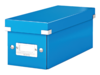 Cd box Leitz Click & Store WOW 143x136x352mm blauw