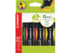 Markeerstift Stabilo Boss Green assorti 4stuks