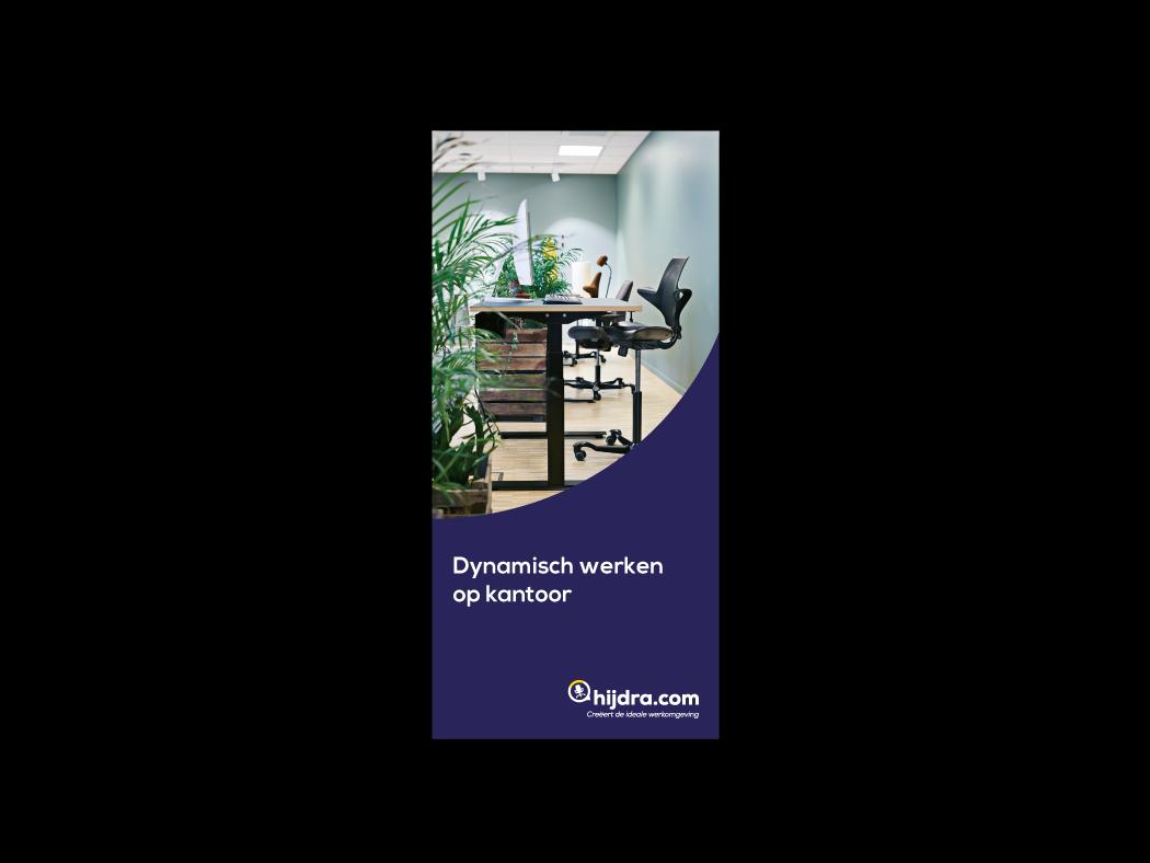 Folder Dynamisch werken op kantoor