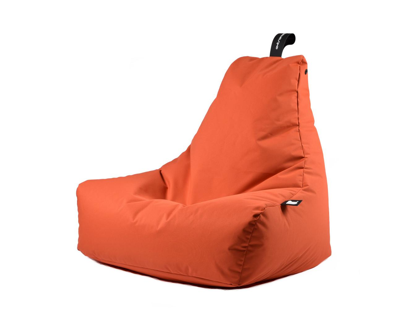 Zitzak Extreme Lounging b-bag mighty-b Outdoor Oranje 1